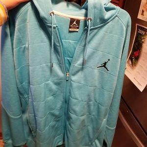 New w/o tag Jordan zip up hoodie